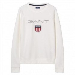 GANT O1. GANT SHIELD LOGO C-NECK SWEAT, GANT, Dam