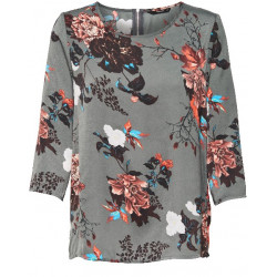 ONLY RIGA 3/4 SLEEVE TOP, ONLY, Dam