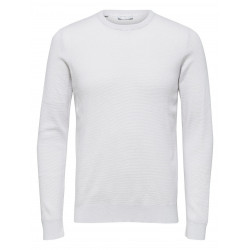 SELECTED DAMIAN CAMP CREW NECK, SELECTED HOMME, Herr