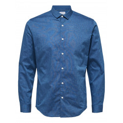 SELECTED ONESMART-CAMP SHIRT LS, SELECTED HOMME, Herr
