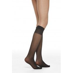 VOGUE 20 DEN LADIES KNEE HIGH, VOGUE, Dam