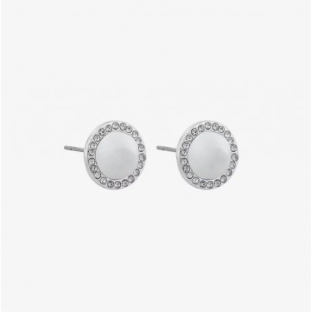 SNÖ OF SWEDEN DARIA SMALL PEARL EAR S/WHITE