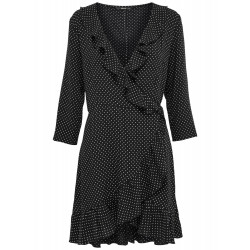 ONLY LAURA 7/8 WRAP DRESS, ONLY, Dam