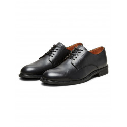 SELECTED BAXTER DERBY LEATHER SHOE, SELECTED HOMME, Skor