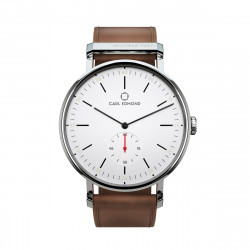 CARL EDMOND RYOLIT 36MM WHITE/COGNAC, CARL EDMOND, Accessoarer