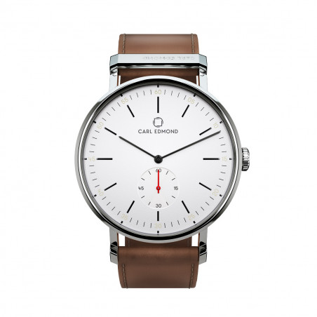 CARL EDMOND RYOLIT 36MM WHITE/COGNAC