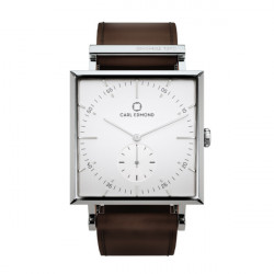 CARL EDMOND GRANIT 34MM WHITE/DK BROWN, CARL EDMOND, Accessoarer