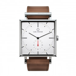 CARL EDMOND GRANIT 34 MM WHITE/COGNAC, CARL EDMOND, Accessoarer