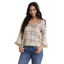 ODD MOLLY HONEY-COATED L/S BLOUSE, ODD MOLLY , Dam