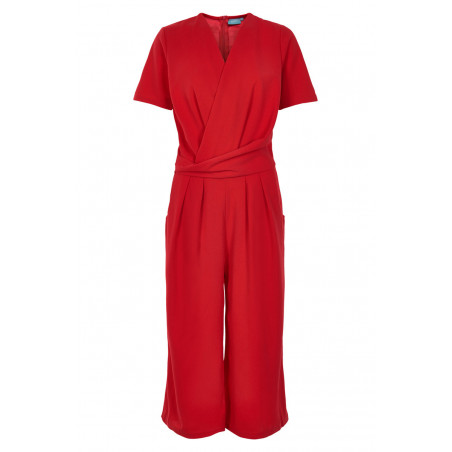 B.YOUNG TUMIA CROPPED JUMPSUIT