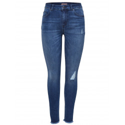 ONLY BLUSH MID ANKEL RAW JEANS, ONLY, Dam