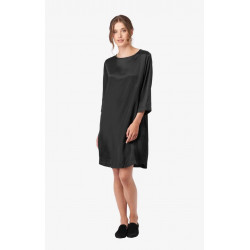 BOOMERANG DRESS SALTY BLACK, BOOMERANG, Dam
