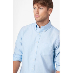 BOOMERANG SOLID OXFORD SHIRT REGULAR FIT BD CLOUD BLUE, BOOMERANG, Herr