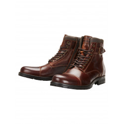 JACK & JONES ALBANY LEATHER BOOTS, JACK & JONES, Skor