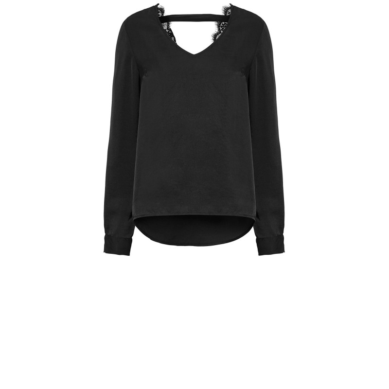 CAPRI GRACIE BLOUSE BLACK