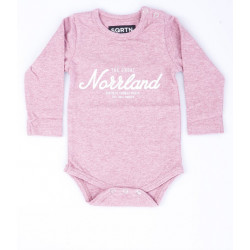 SQRTN GREAT NORRLAND LS BODY PINK, SQRTN COMPANY, Baby