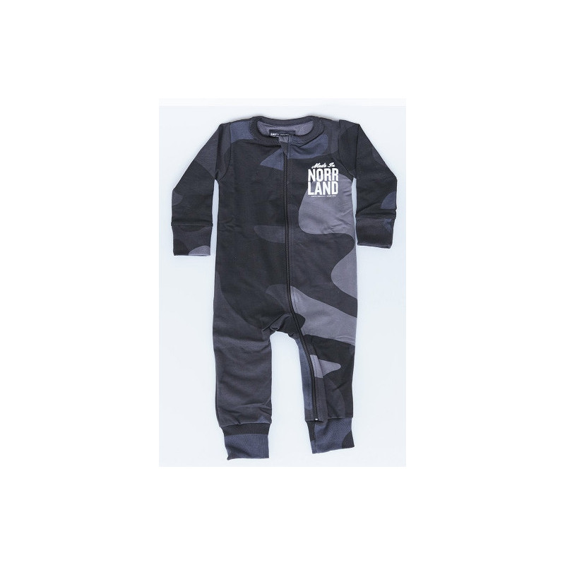 SQRTN MADE IN JUMPSUIT - BLACK CAMO, SQRTN COMPANY, Baby