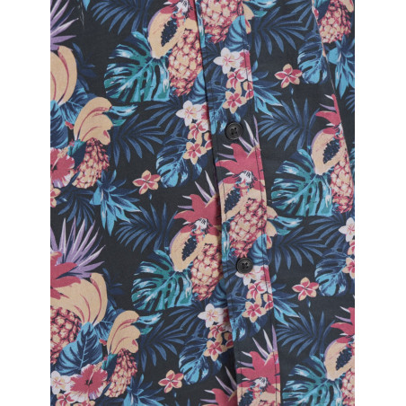 JACK & JONES TROPICAL SHIRT ONE POCKET - TAP SHOE, JACK & JONES, Herr