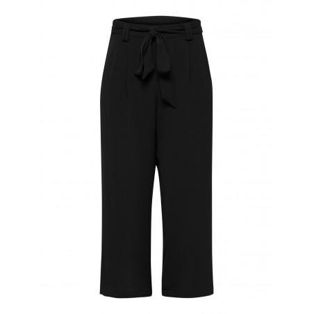 ONLY WINNER PALAZZO PANTS - BLACK