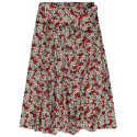 GARCIA RED FLOWER SKIRT, GARCIA, Dam